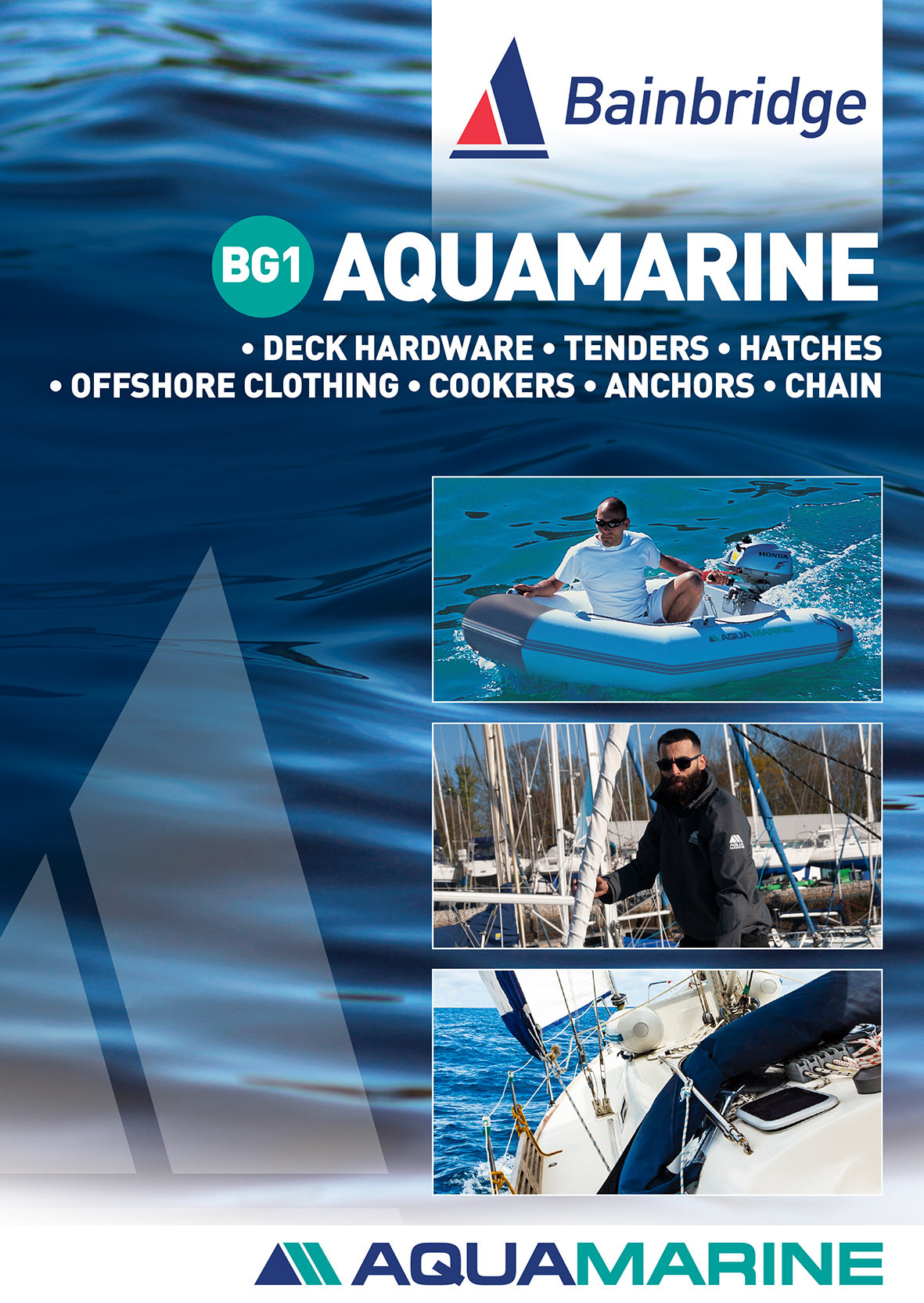 BG1 AquaMarine Catalogue Cover